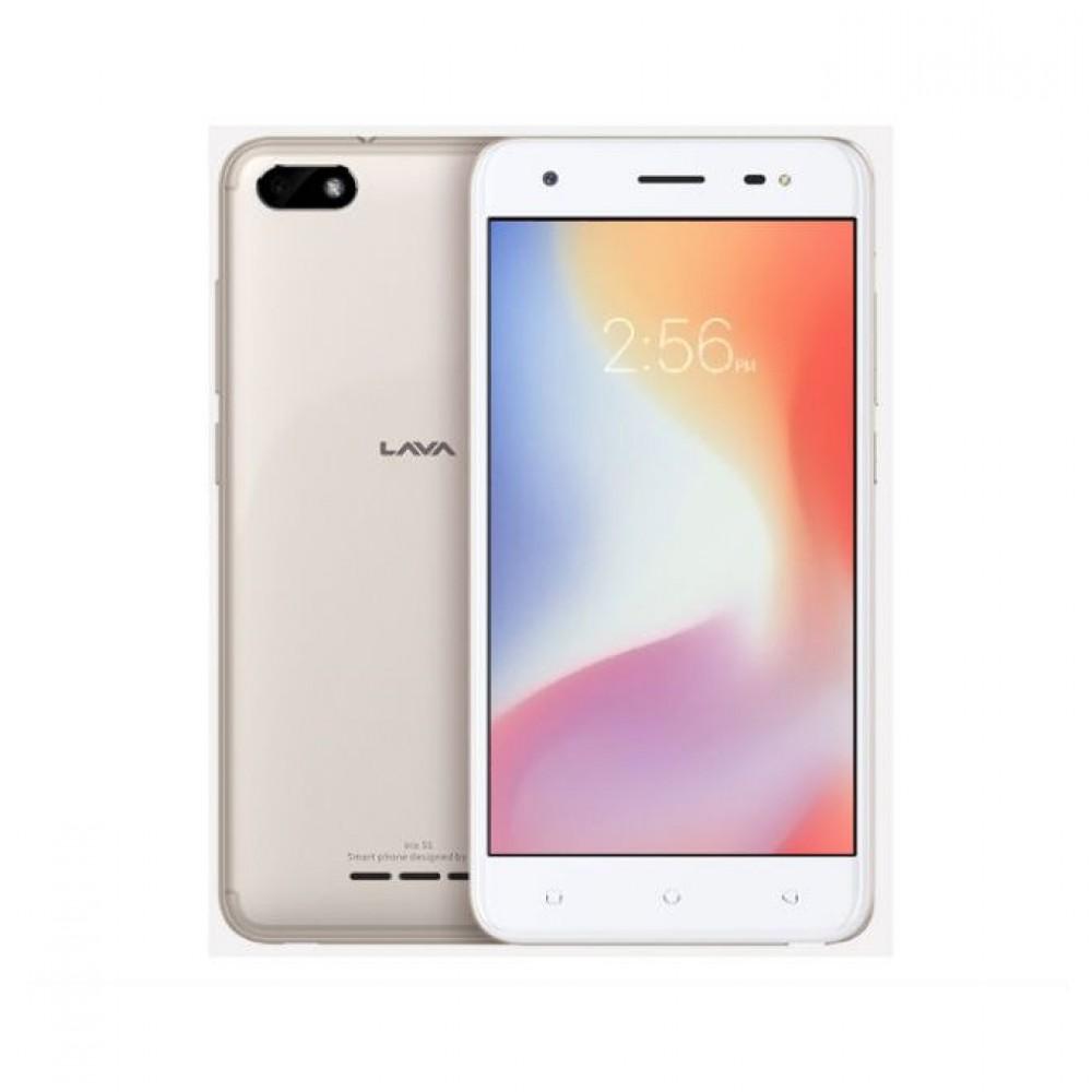 Lava Iris 51 - 5.0-inch 8GB Dual SIM Mobile Phone Gold