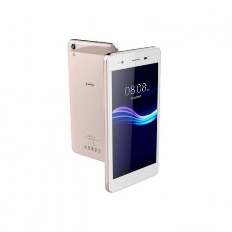 Lava Iris 50 - 5.0-inch 8GB Dual SIM Mobile Phone - Pure Gold