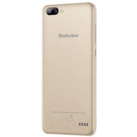 Blackview A7 Dual SIM - 8GB, 1GB RAM, 3G, Wifi, Champagne Gold