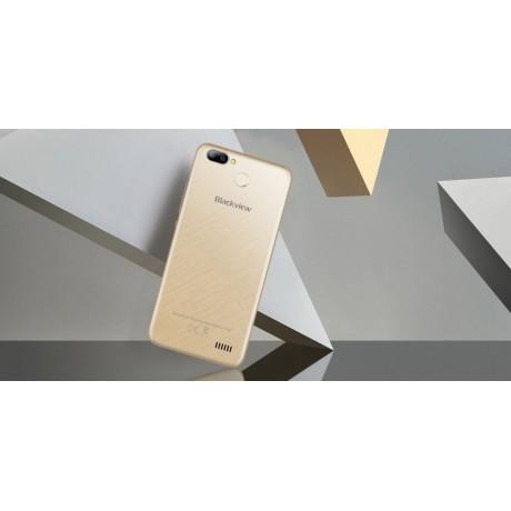 Blackview A7 Pro Dual SIM - 16GB, 2GB RAM, 4G LTE, Champagne Gold