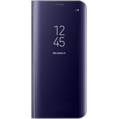 Samsung Galaxy S8+ Clear View Standing Cover - Violet, EF-ZG955