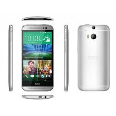 HTC M8 DUG DUAL-SIM ARABIC/ENGLISH SILVER UK PLUG