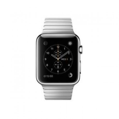 Apple Watch - 42mm Stainless Steel Case with Stainless Steel Link Bracelet