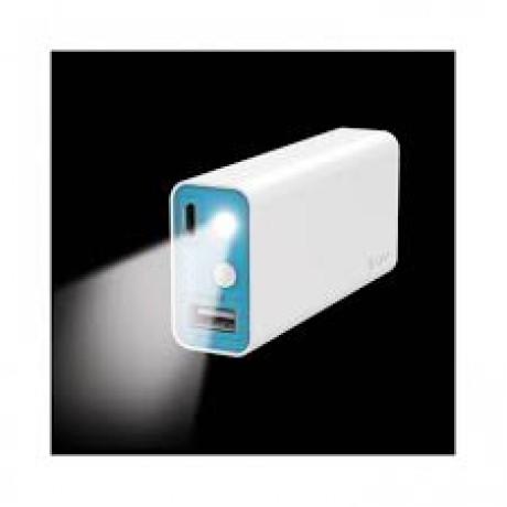 ILUV MYPOWER 5200mAh Power Bank, White