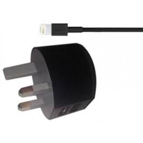 iCON Portable Home Car Charging Kit, Black
