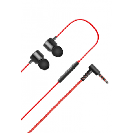 LG Stereo Headset Earphones Red