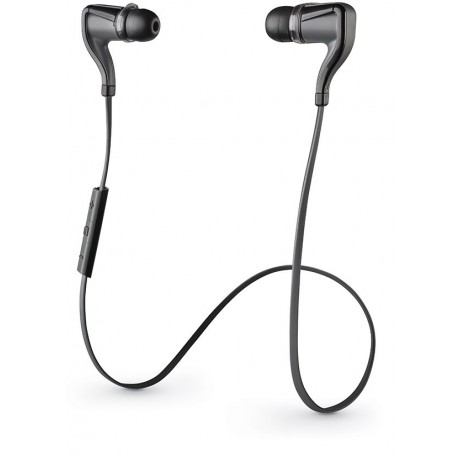 Plantronics Backbeat Go 2 Stereo Bluetooth Headset - Black