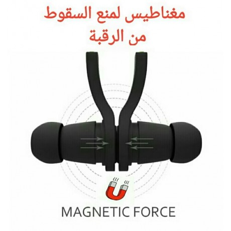 Bluetooth headset for wireless stereo sports with magnet
