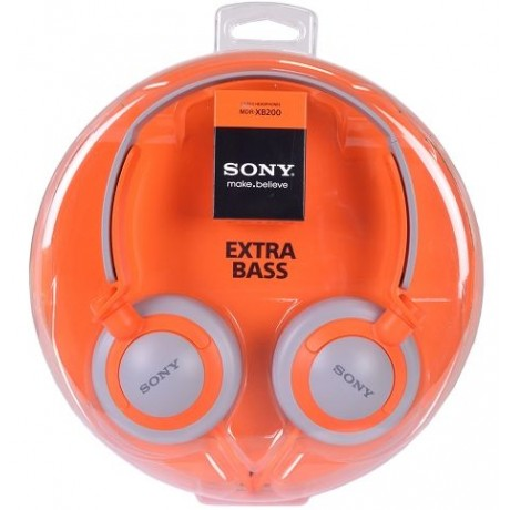 Sony MDR-XB200 Extra Bass Over-Ear Stereo Headphones
