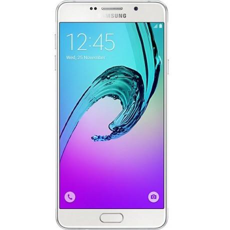 Samsung Galaxy A7 2016 Dual Sim,16GB, 4G LTE, White,Guarantee 2 Years