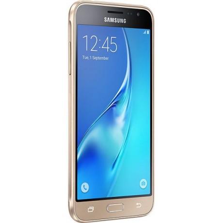 Samsung Galaxy J3,Dual Sim, LTE Duos ,8GB ,Gold, Guarantee 2 Years