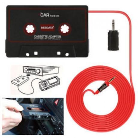 car cassette adaptor,talk handsfree and listen to music