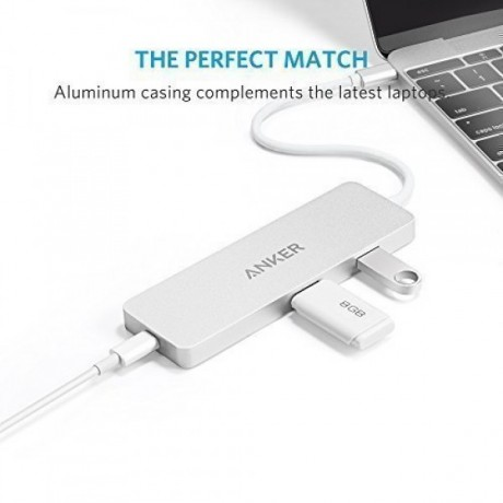 Premium USB-C Hub Anker,with HDMI and Power Delivery,Guarantee two years