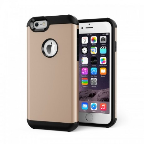Protective Case ToughShell Gold for iPhone 6 and iPhone 6s,High Qualit product