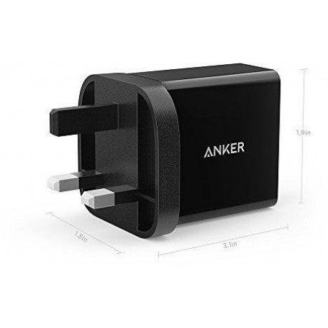 Anker PowerPort 1Quick Charge 3.0 USB Wall Charger Black,B2013K11