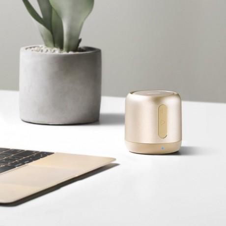 Anker SoundCore Mini Bluetooth Speaker,Gold,A31011B1,Orginal Product