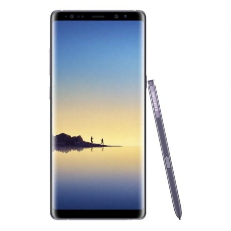 """Samsung Galaxy Note8 Duos - 6.3"""" - 64GB - 4G Dual SIM Mobile Phone - Orchid Grey"""