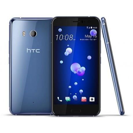 HTC U 11 Dual SIM - 64GB, 4GB RAM, 4G LTE, Amazing Silver