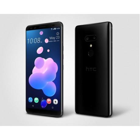 HTC U12+ Dual SIM - 128GB, 6GB RAM, 4G LTE, Ceramic Black