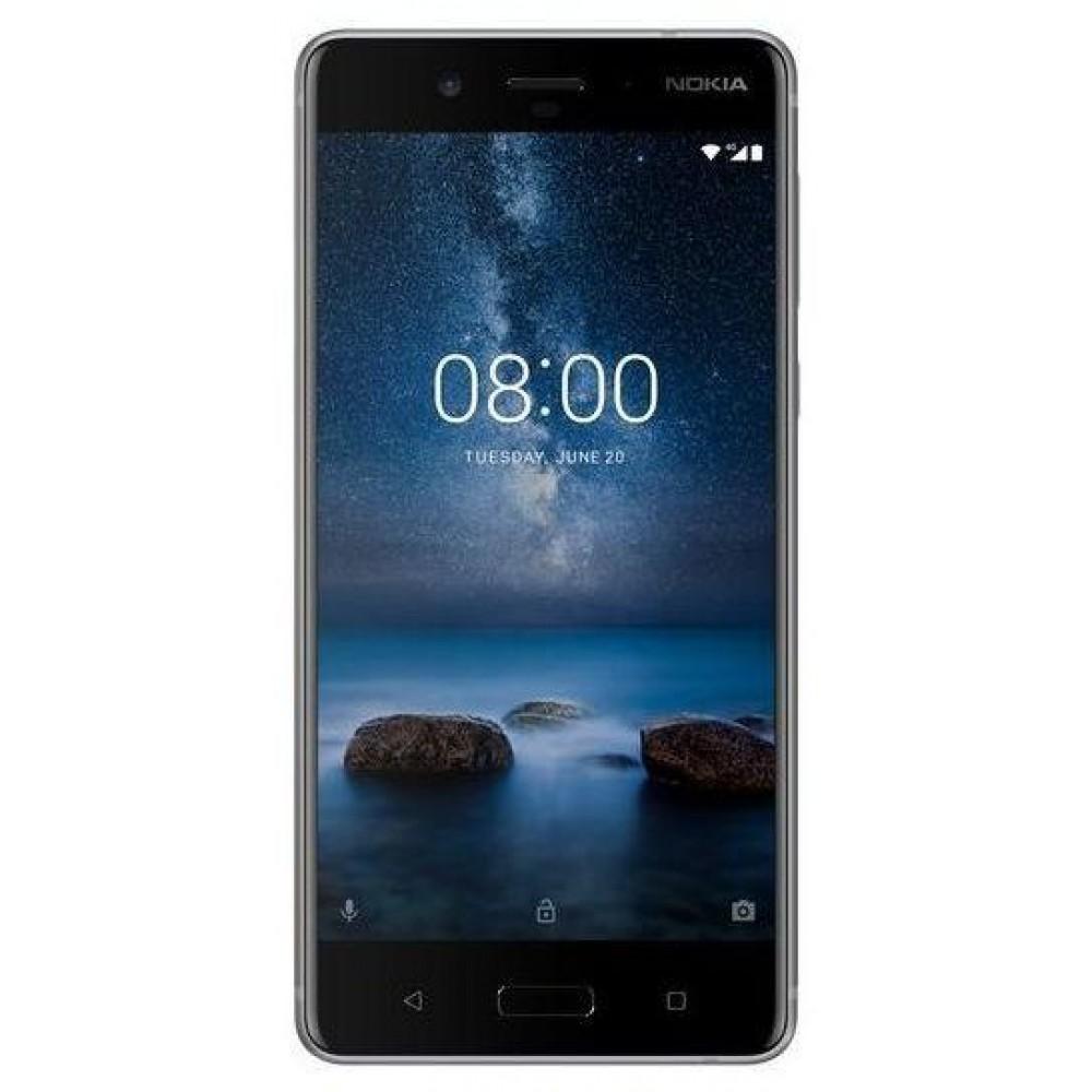 Nokia 8 Smartphone LTE, Steel