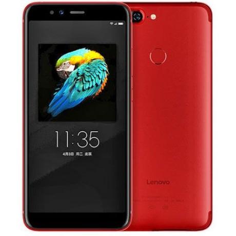 Lenovo S5 Dual SIM - 64GB, 4GB RAM, 4G LTE, Red