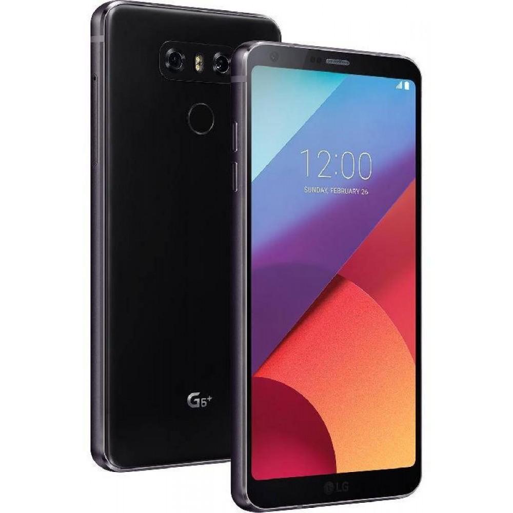 LG G6 Plus Dual SIM , 128GB, 4GB RAM, 4G LTE, Astro Black