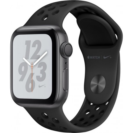 Apple Watch Series 4 Nike+ , 44mm Space, Gray Aluminum Case with Anthracite/Black Nike Sport Band, GPS , watchOS 5