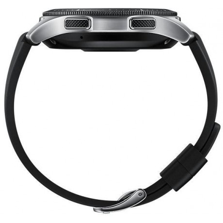Samsung Smart Watch, Silicone Band, For Tizen,Silver - SM-R800NZSAXSG