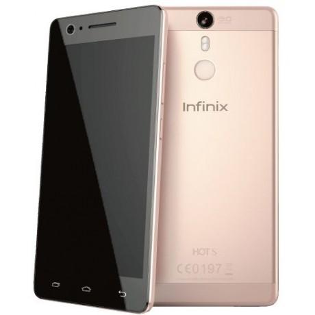 Infinix Hot S X521 ,Dual Sim , 16GB, 4G LTE, Rose Gold
