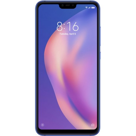 Xiaomi Mi 8 Lite ,Dual SIM , 64GB, 4GB RAM, 4G LTE, Aurora Blue - International Version