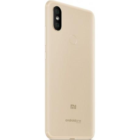 Xiaomi Mi A2 ,Dual SIM , 32GB, 4GB RAM, 4G LTE, Gold – International Version