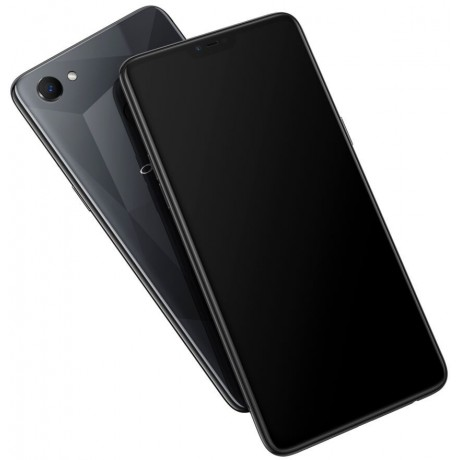 OPPO F7 Dual SIM , 64GB, 4GB RAM, 4G LTE, Diamond Black