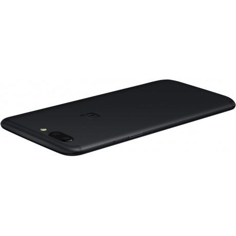 OnePlus 5, Dual SIM ,128GB, 8GB RAM, 4G LTE, Midnight Black