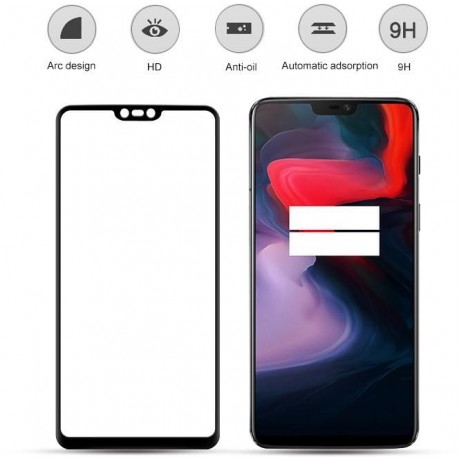 3D Glass protector for,OnePlus 6
