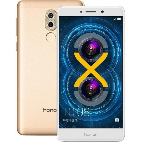 Huawei, Honor 6X, 32 GB, Gold, 4G LTE