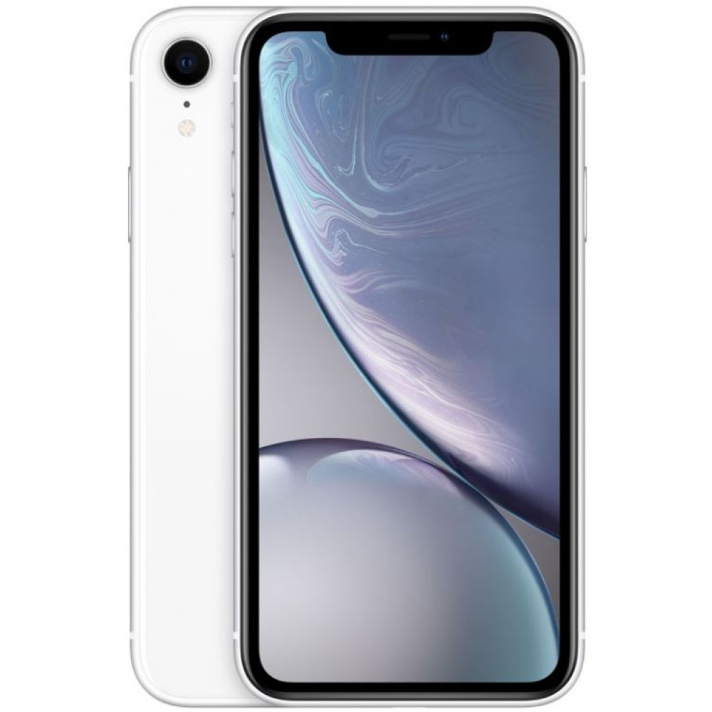 Apple iPhone XR, with Face Time , 128GB, 4G LTE, White