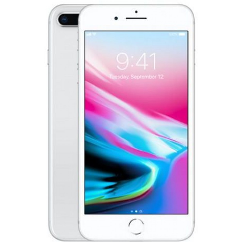 Apple iPhone 8 Plus, without FaceTime , 64GB, 4G LTE, Silver