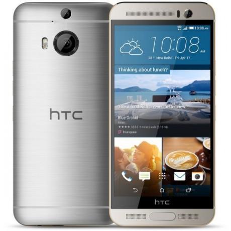 HTC One M9+ , 32GB, 3GB RAM, 4G LTE, WiFi, Gold on Silver