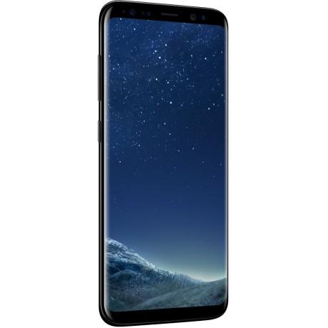 Samsung Galaxy S8, Dual Sim ,64GB, 4G LTE, Midnight Black