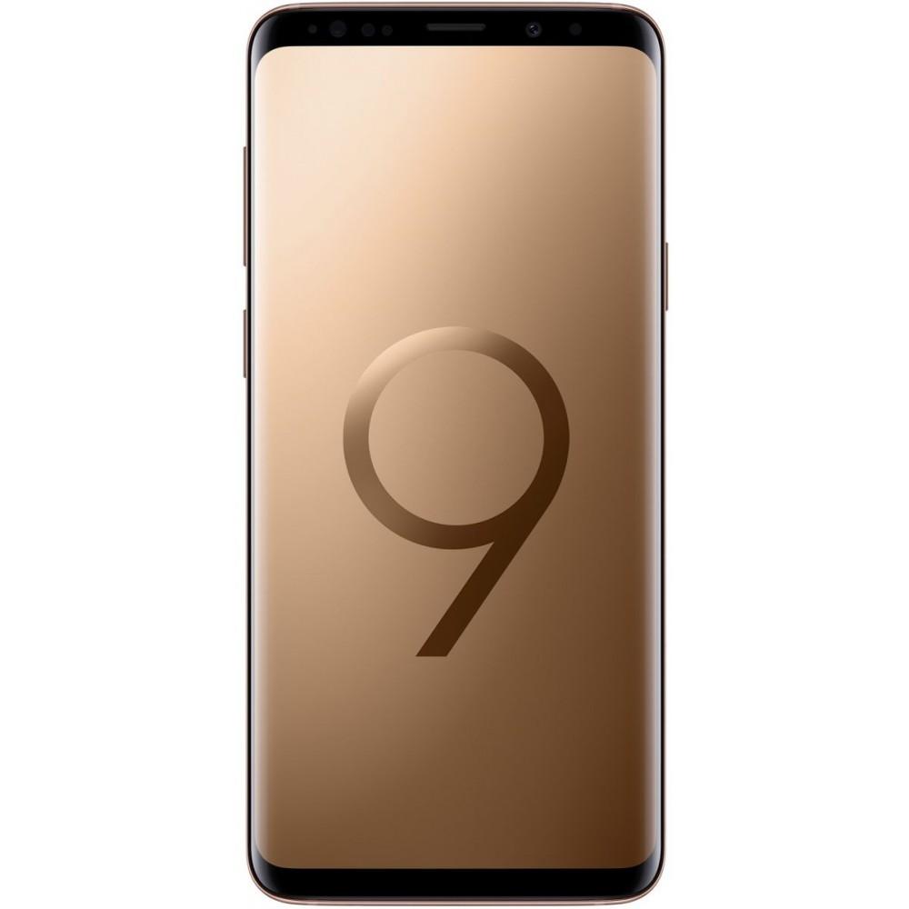 Samsung Galaxy S9+ ,Dual Sim , 256GB, 6GB Ram, 4G LTE, Sunrise Gold , Middle East Version