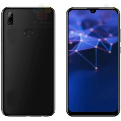 COVER SILICONE BLACK COLOR, For HUAWEI P SMART Model 2019