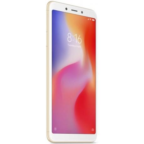 Xiaomi Redmi 6A Dual SIM - 32GB, 2GB RAM, 4G LTE, Gold - International Version