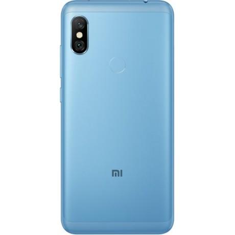 Xiaomi Redmi Note 6 Pro Dual SIM - 64GB, 4GB RAM, 4G LTE, Blue – International Version