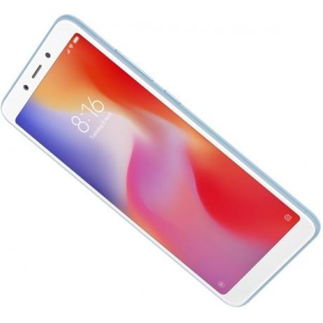 Xiaomi Redmi 6 Dual SIM - 64GB, 4GB RAM, 4G LTE, Blue - International Version