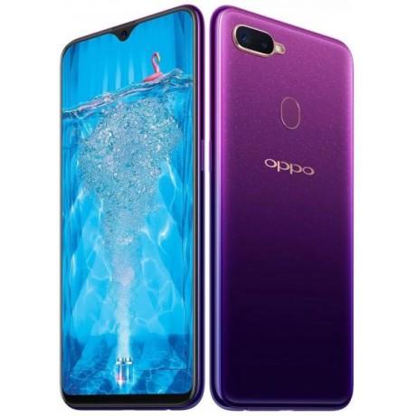 Oppo F9 dual sim - 64GB, 4GB Ram, 4G LTE, purple