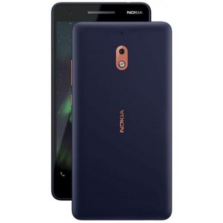Nokia 2.1 Dual Sim - 8GB - 1GB RAM - 4G LTE - Blue/Copper