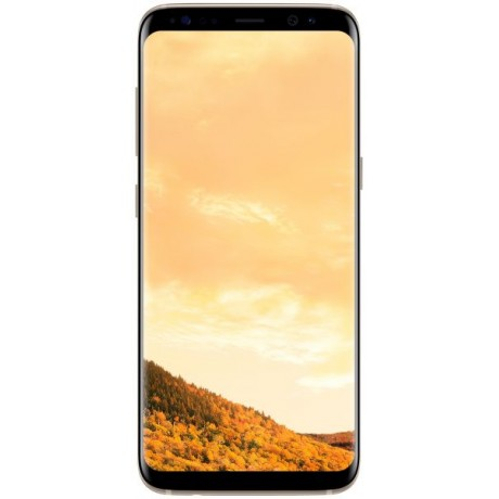 Samsung Galaxy S8 Dual Sim - 64GB, 4G LTE, Maple Gold