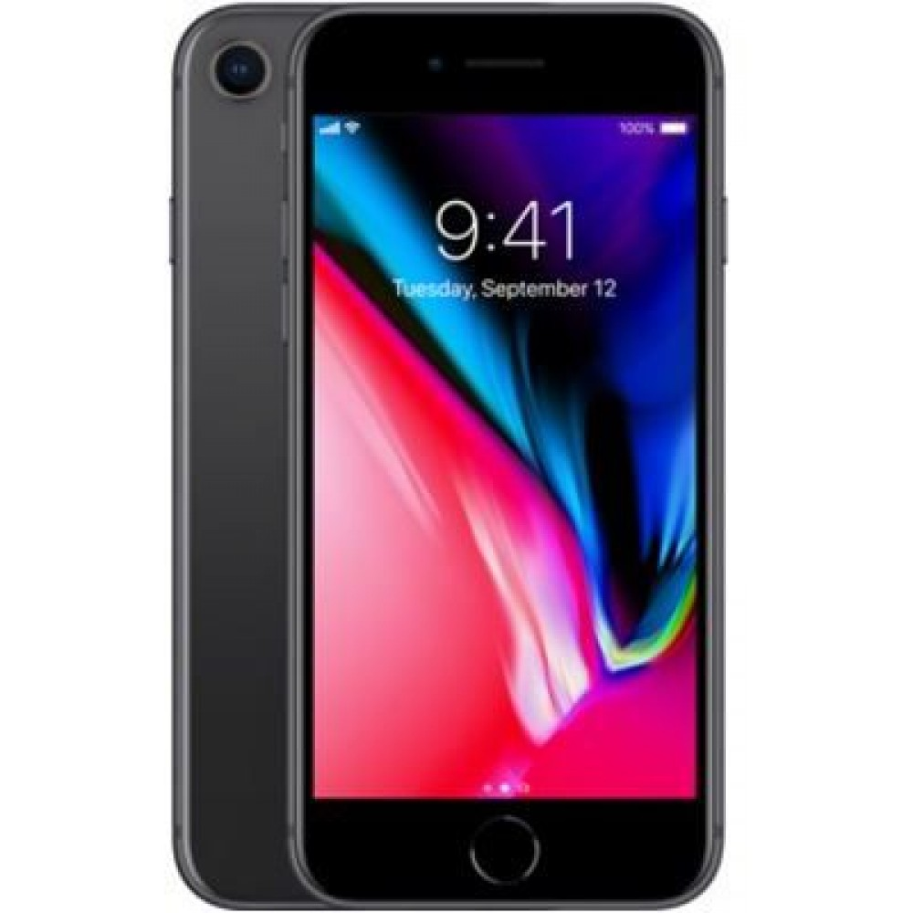 Apple iPhone 8 with FaceTime - 64GB, 4G LTE, Space Grey