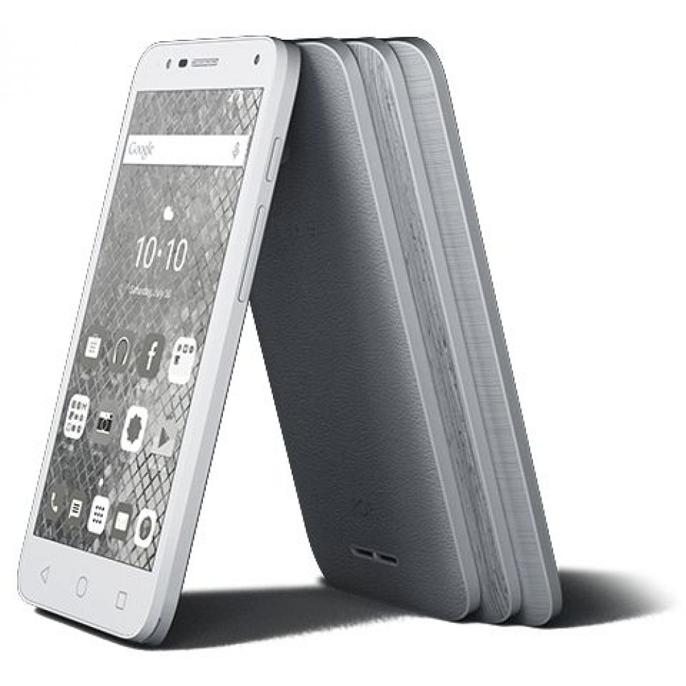 Alcatel Pop 4S Dual Sim - 16GB, 4G LTE, Grey
