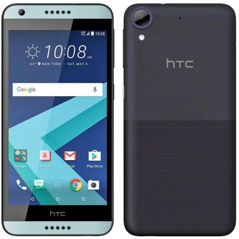 HTC Desire 650 Dual SIM - 32GB, 3GB RAM, 4G LTE, Blue